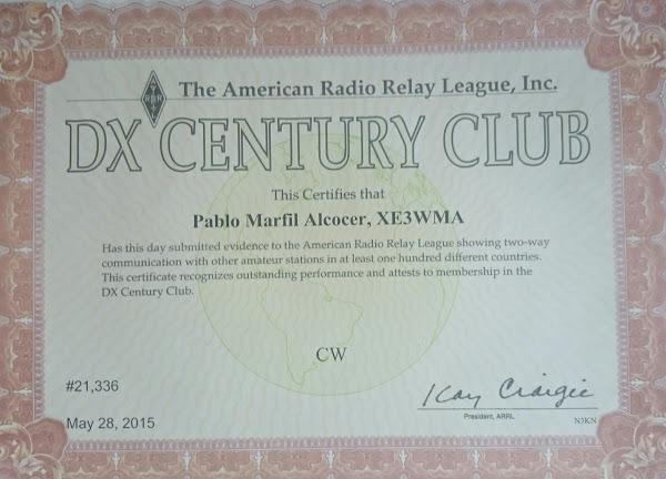 XE3WMA - callsign lookup - QRZ - dxwatch - dx cluster