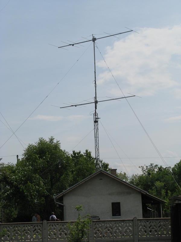 New antenna system for 6m - 15.05.2001.