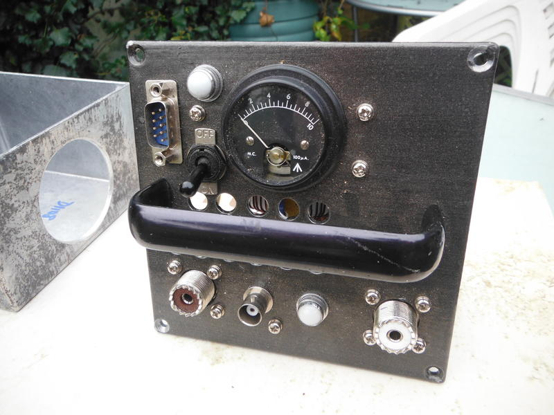 200 watt 137 kHz Low pass filter, using T-200 toroids. It has an RF voltmeter, and a small fan that is controlled by the PTT line