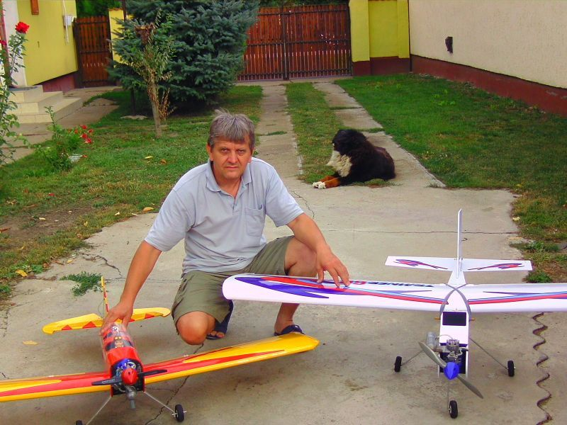 My another hobby the RC air-modelling