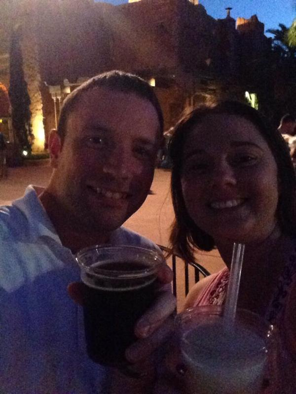 My Wife Heather and I at Disney World