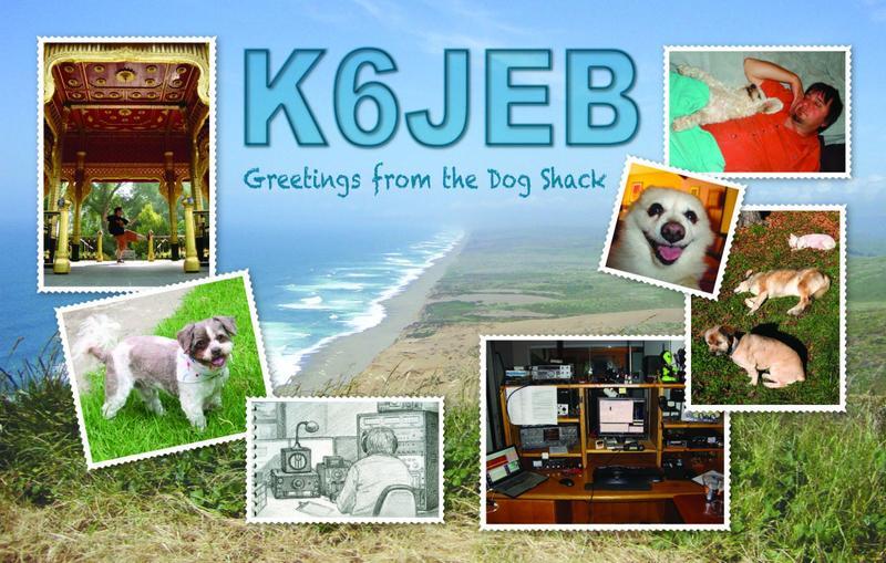 K6JEB QSL Card