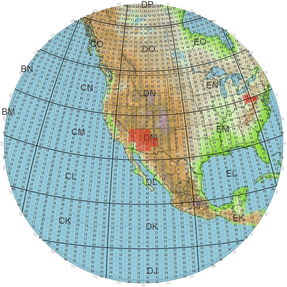 Satellite Rover Map