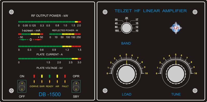 Amplificateur radioamateur HF - Prix bas attractif - Très bonne réalisation DB1500FP