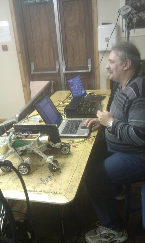 Remote Controlling a replica Mars Rover through the Internet