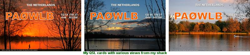 QSL Cards PA0WLB