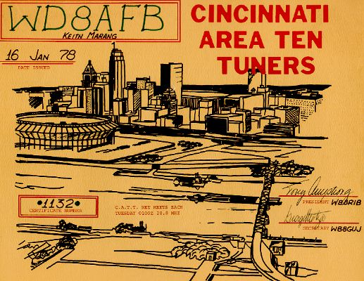 Cincinnati Area Ten Tuners # 1132