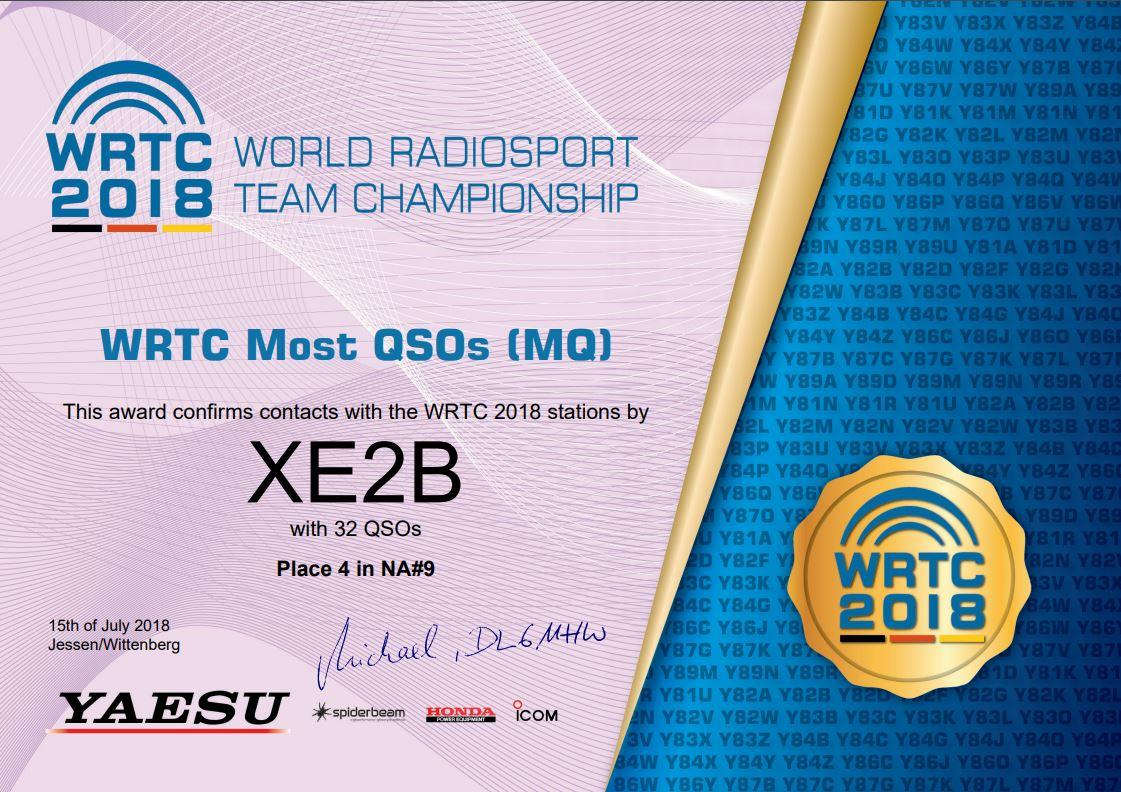 XE2B - Callsign Lookup by QRZ Ham Radio