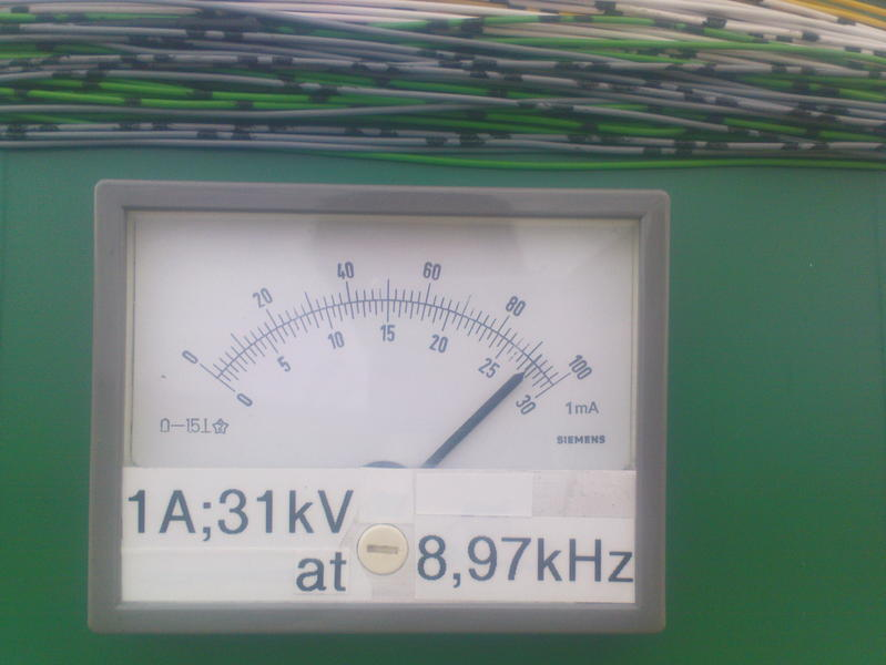 Maximum antenna current