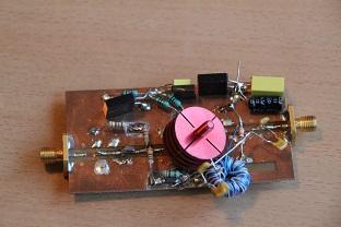 1 to 10MHz high input IP3 LNA