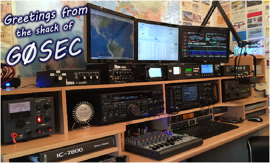 G0sec Callsign Lookup By Qrz Ham Radio