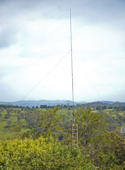 my 40m vertical