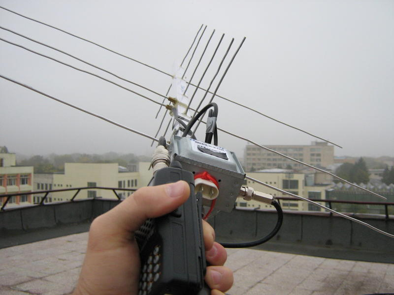 satellite arrow antenna