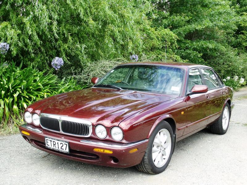 Our CAT. 1998 Jaguar XJ8. The first of the V8 cats.