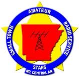 Cabot STARS (Small Town Amateur Radio Service) Logo