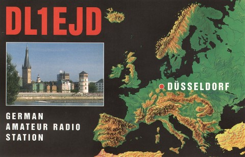 QSL - my old one