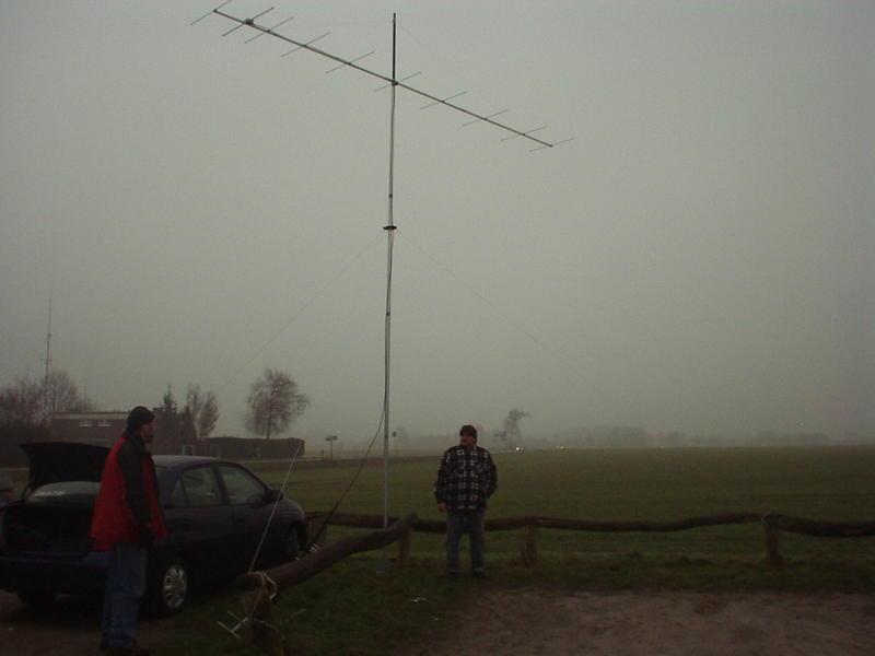 Fielday UHF Antenna, Stack with 4 Antennas