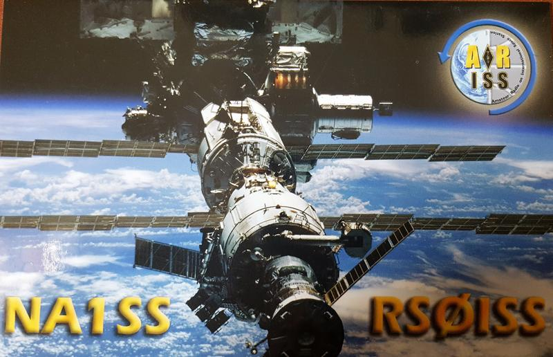 all qsl card's i received from MIR and I.S.S international space station