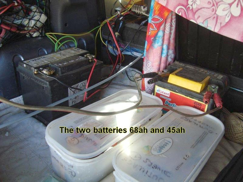 batteries fo TX and Computer