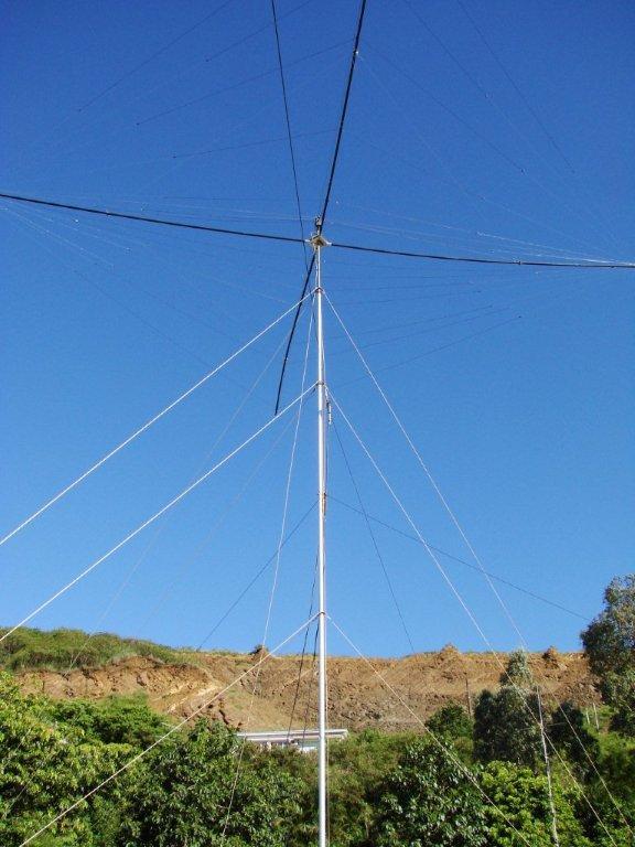 Spiderbeam at 15 meters high