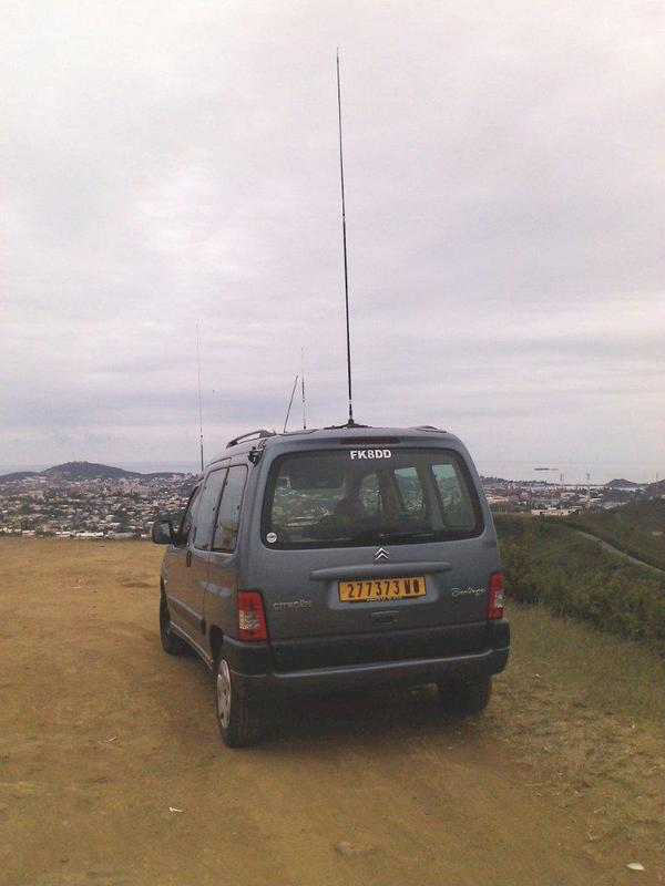 FK8DD/M near Mobilis Phone communication Tower