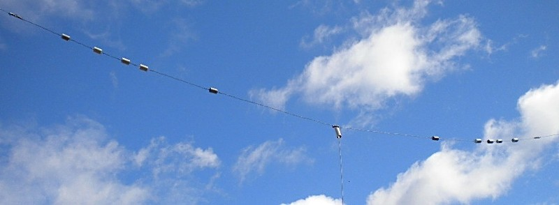 Trap Antenna for 6 bands