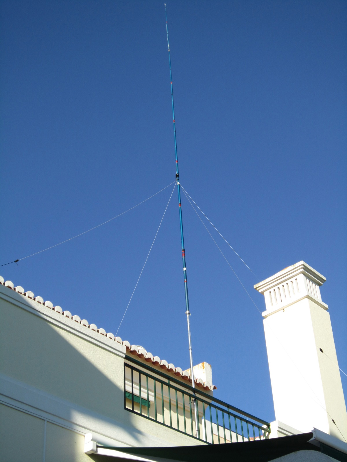 GP antenna for 20m with 4 radials