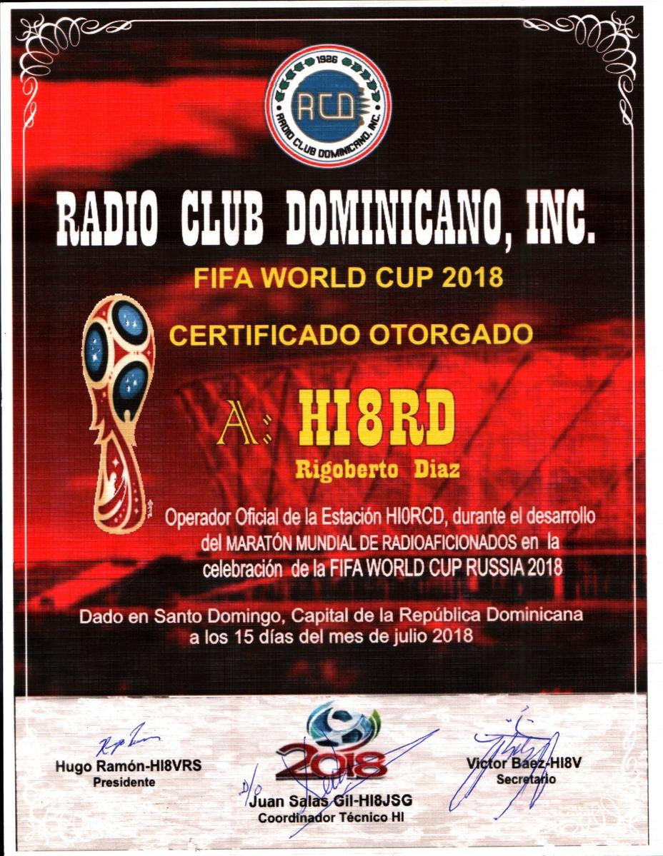 HI8RD - Callsign Lookup by QRZ Ham Radio