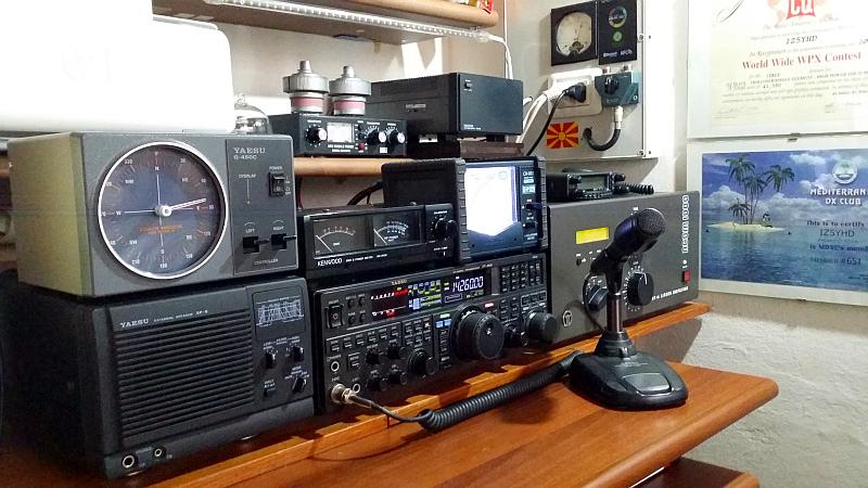 My radio shack.