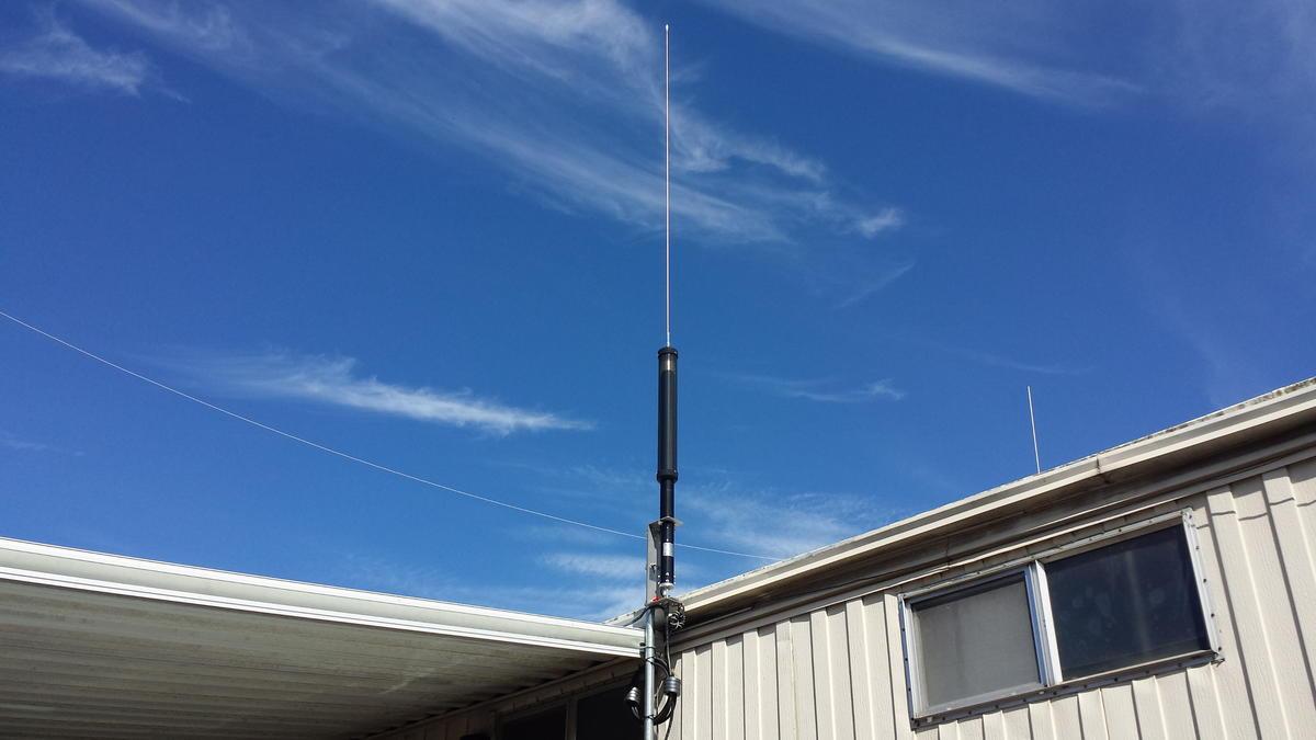 Tarheel 100A-HP Vertical Antenna