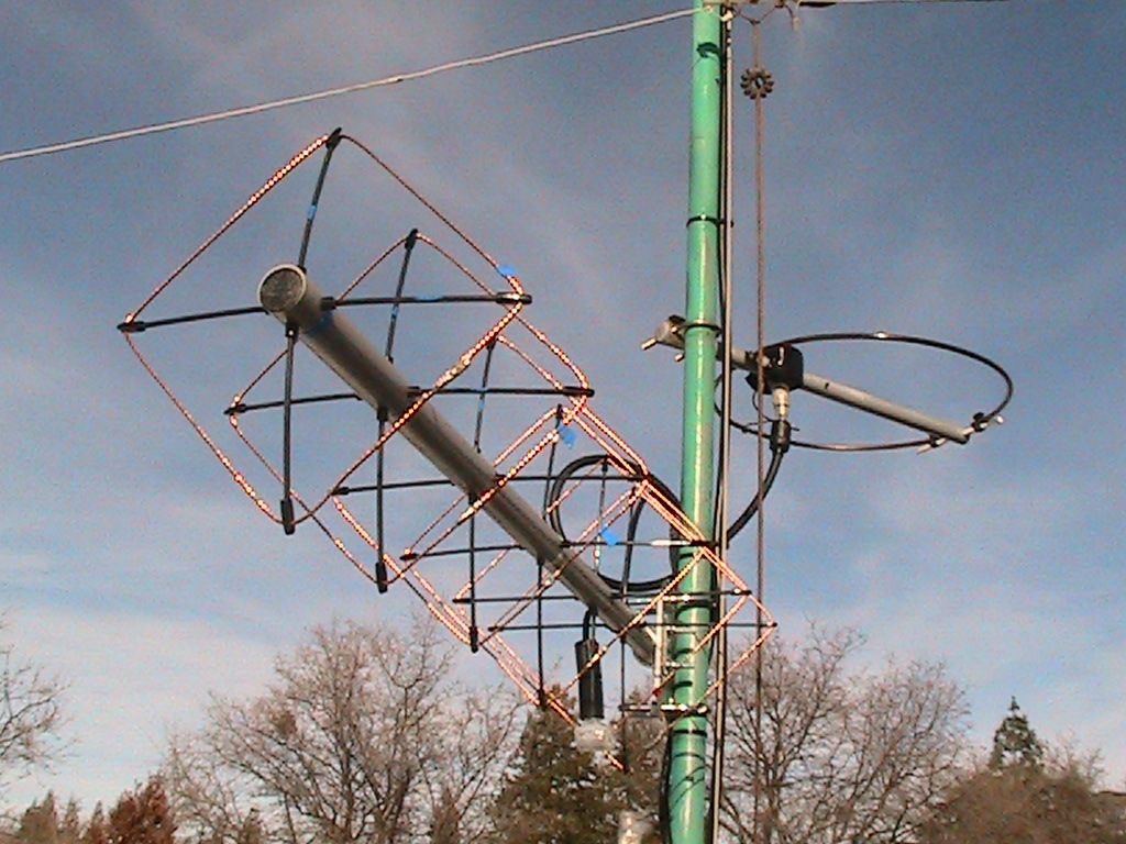 432 MHz Cubical Quad Antenna