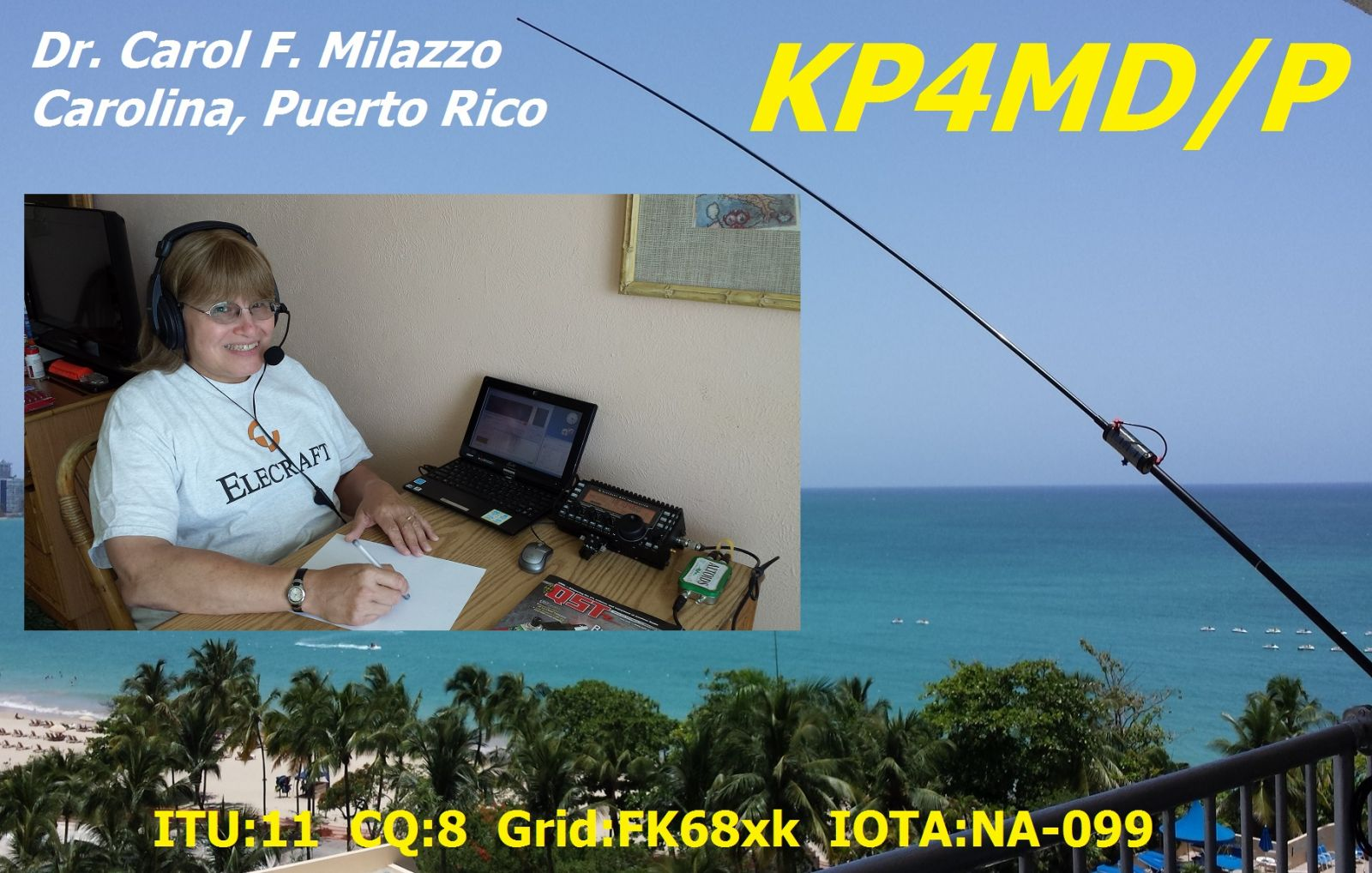 KP4MD/P Station in Puerto Rico