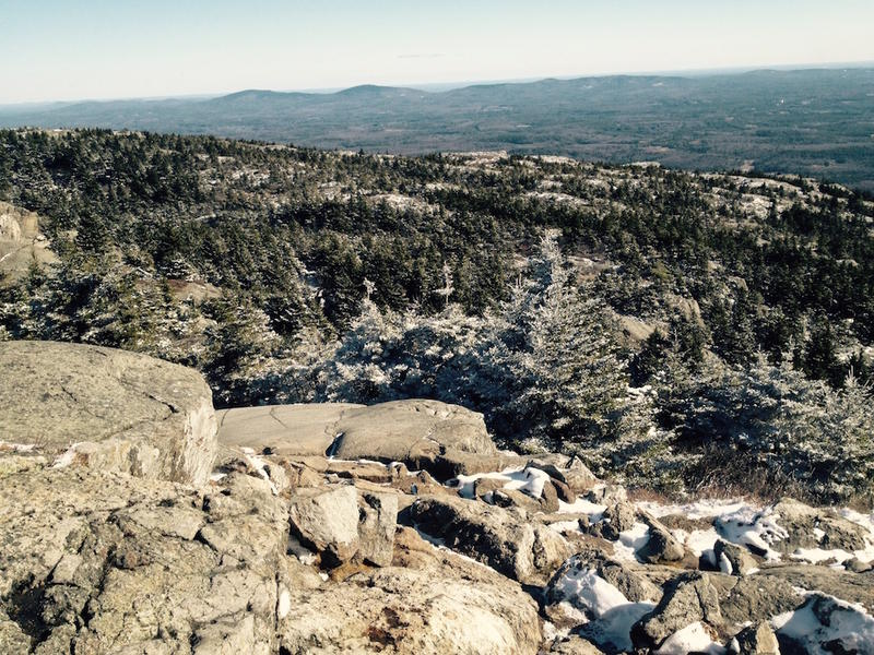 From atop Mt. Monadnock