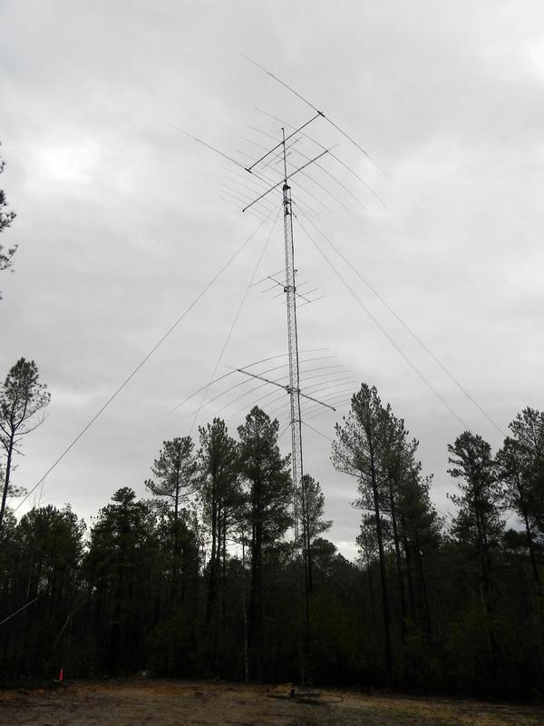 40M through 70CM tower