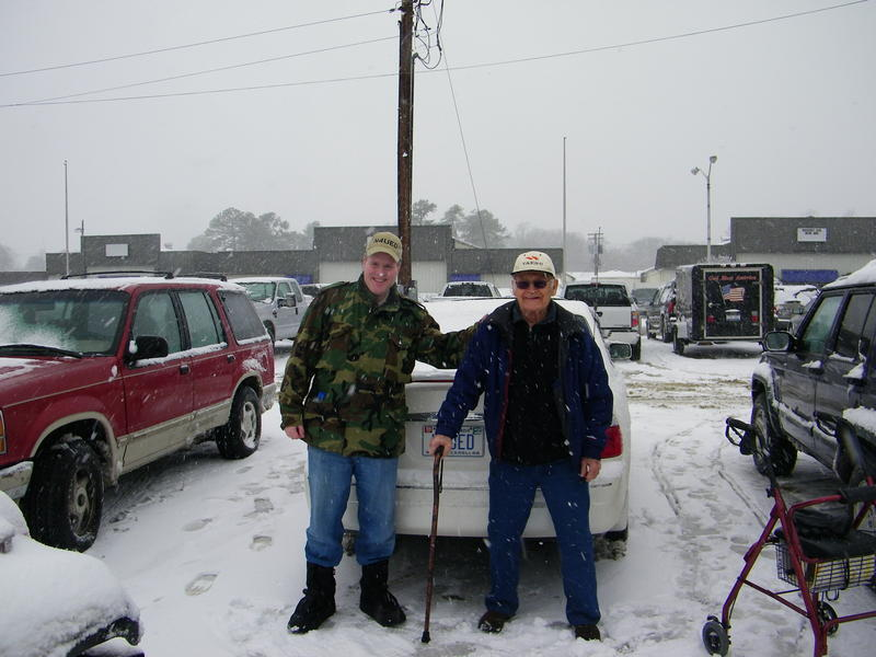 BUBBA AND I AT THE 2010 FROSTFEST