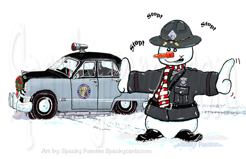 NCSHP SNOW TROOPER