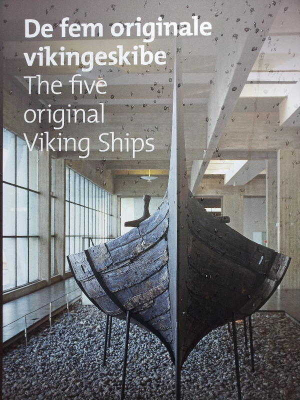 5 original viking ships in the