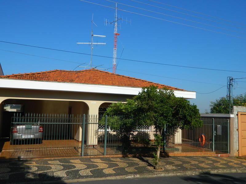 My house here in Pirassununga.