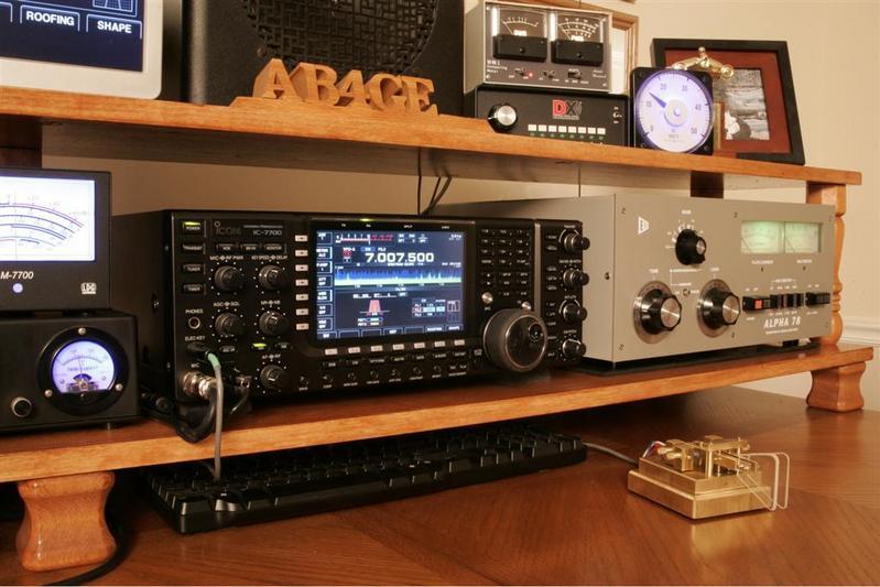 Icom 7700 & Alpha 78