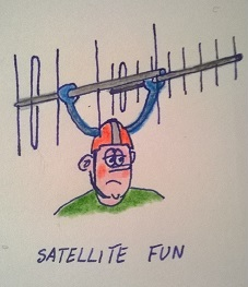 Hands free satellite rotor kit
