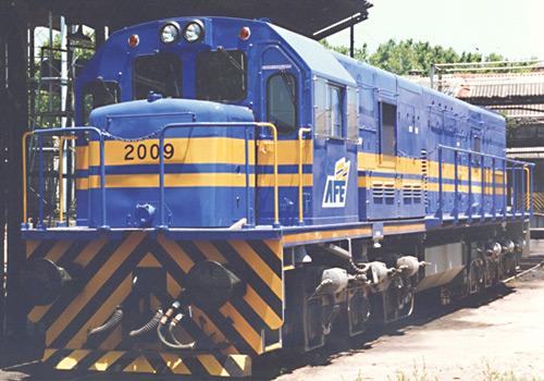 Mi trabajo..Aquí está una foto que muestra la completa locomotoraMy work... Here is a picture showing the complete locomotive