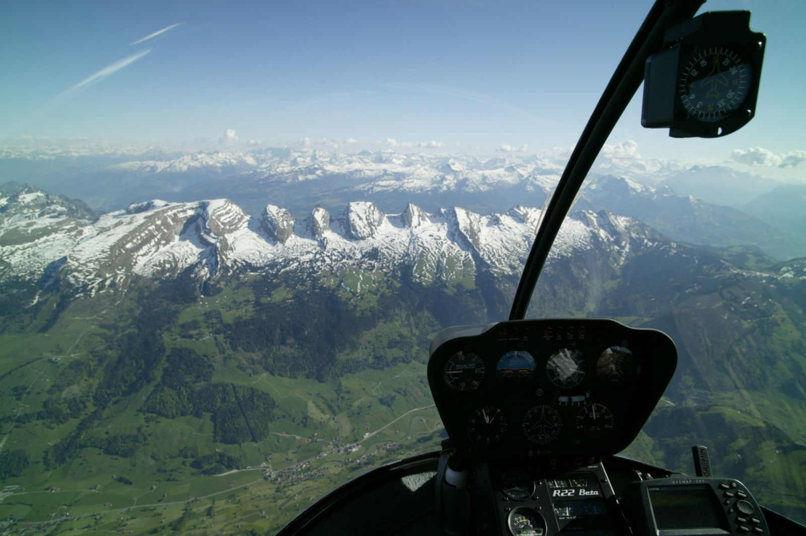 mountain landscape germany / switzerland