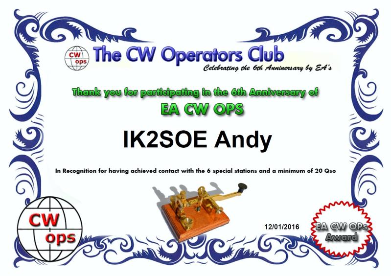 EA CWO 6TH ANNIVERSARY