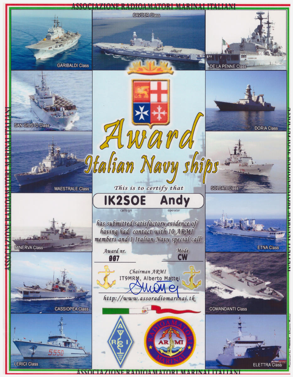 IT NAVY SHIPS AWARD