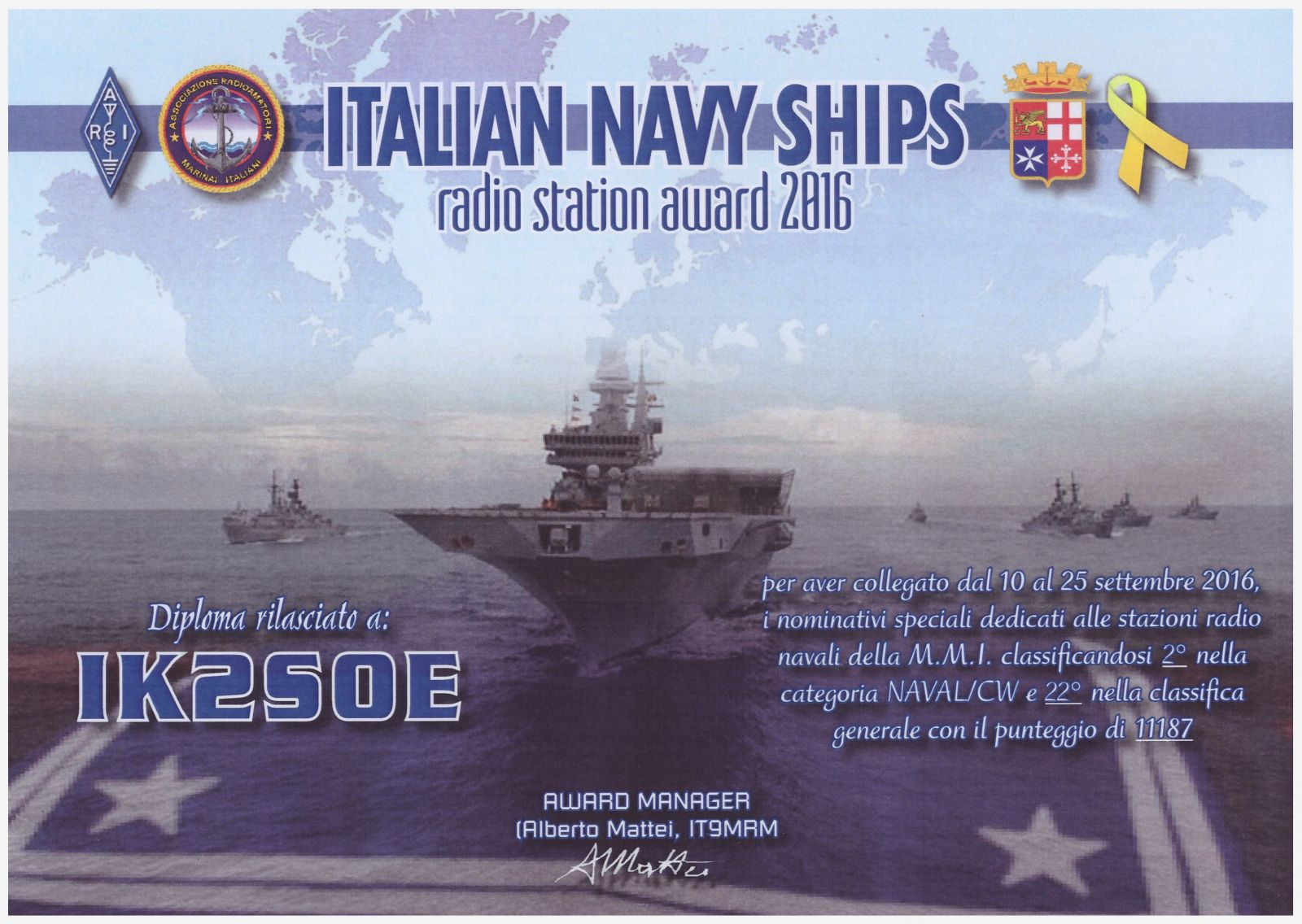 IT NAVY SHIPS 2016 AWARD