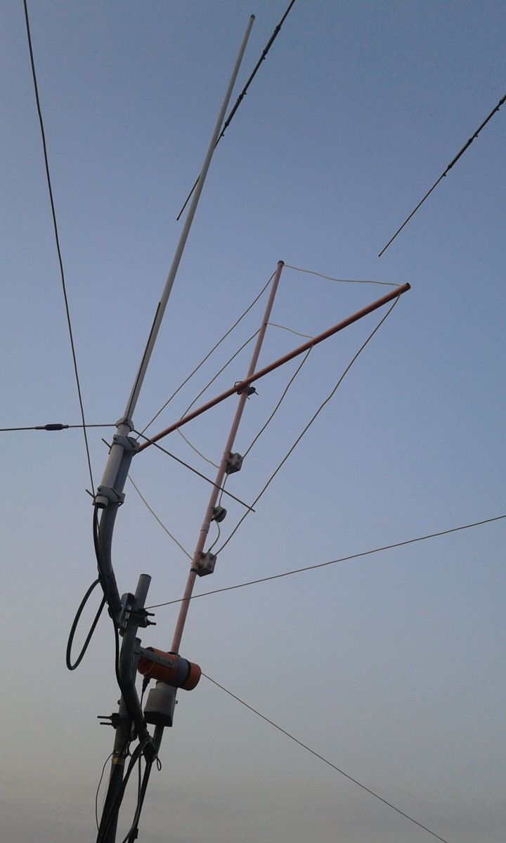 My RX loop antenna for 80 and 160mt. home made