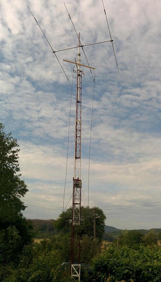 ECO 20/15/10 on Westower 3HD mast