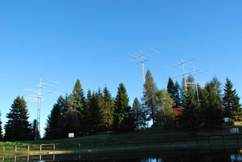 Radio club Cerkno, S50E rni vrh nad Cerknim, 1300 m asl