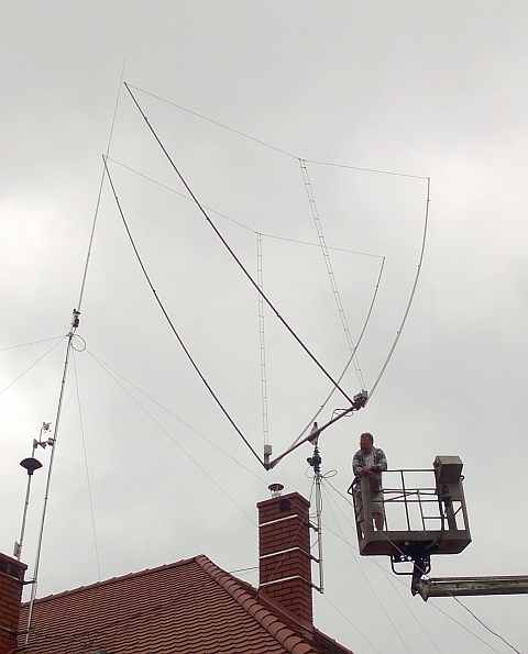 My antena is Delta 2 element