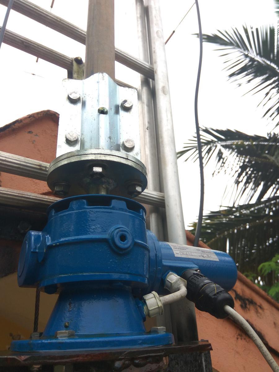 PRO.SIS.TEL PST61 Rotator installed